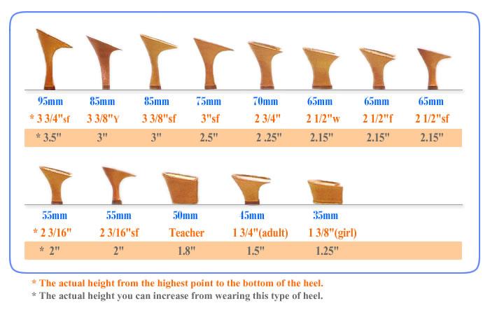 2012 New Ladies Heel Type